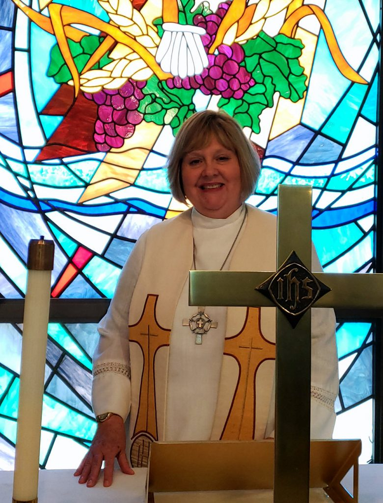 Grace Lutheran Pastor Cindy Wolf